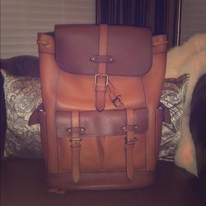 Brand new coach heritage collection backpack